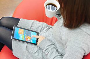 米国のタブレット機普及率が42%に到達イメージ